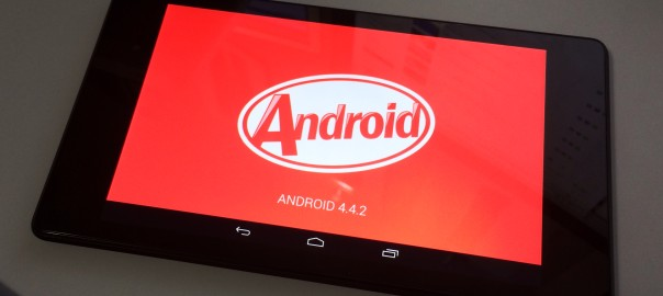 Restaurar Android Kitkat en Nexus 7 con Linux