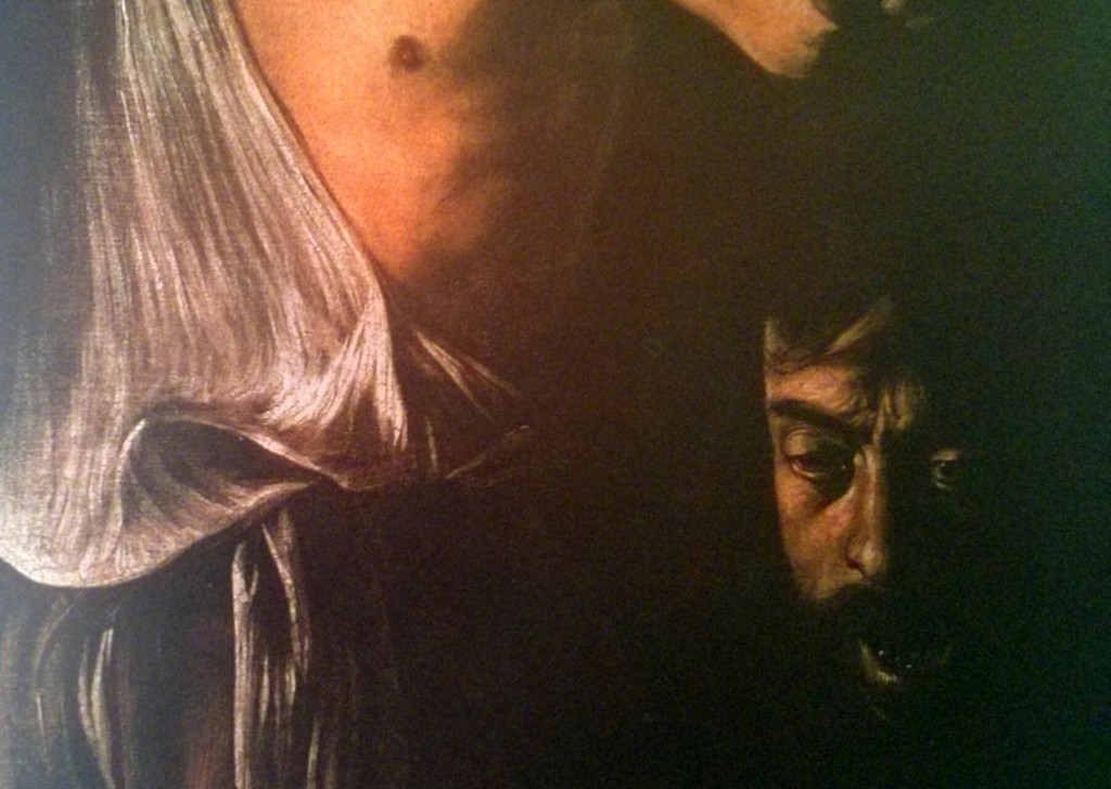 David con la cabeza de Goliat (1607)